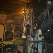 Machine de forage pour la métallurgie
