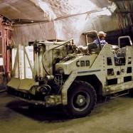Equipement pour travaux souterrains