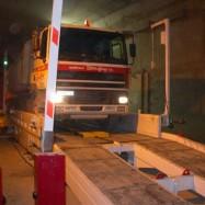Retourneur de camion pour chantier