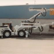 Machine pour le forage des mines