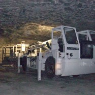 Tailored nacelle in a mine