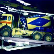 Retourneur de camion utilisé pour le tunnel de Tartagaille en 1997